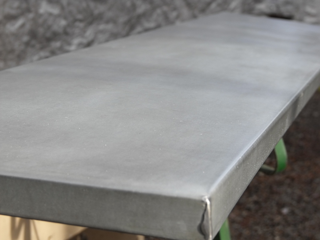 We Take A Sheet Of Galvanized Steel ...